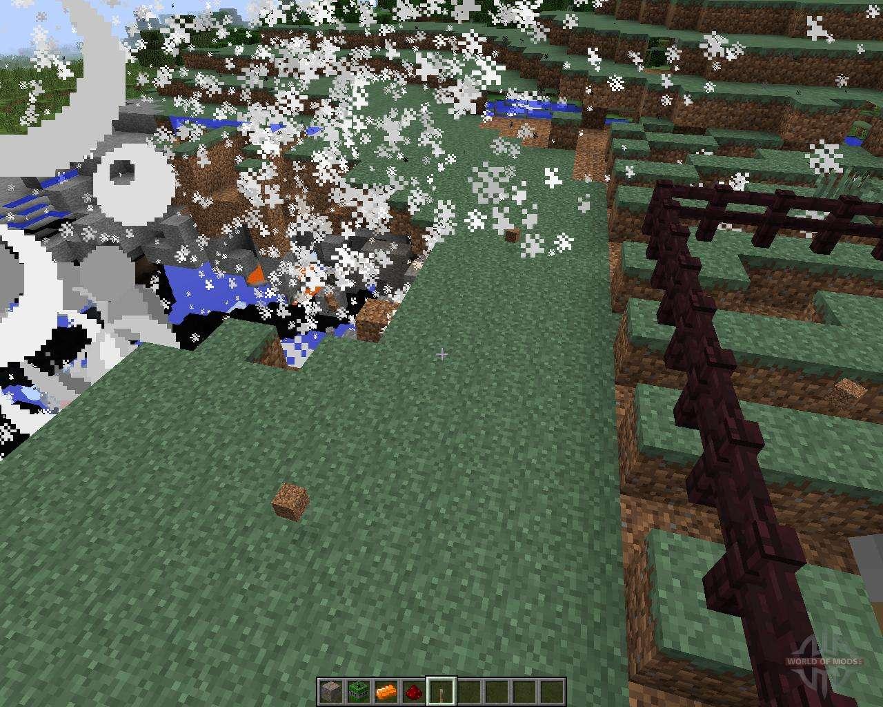 скачать мод с динамитом на версию 1 2 2 minecraft