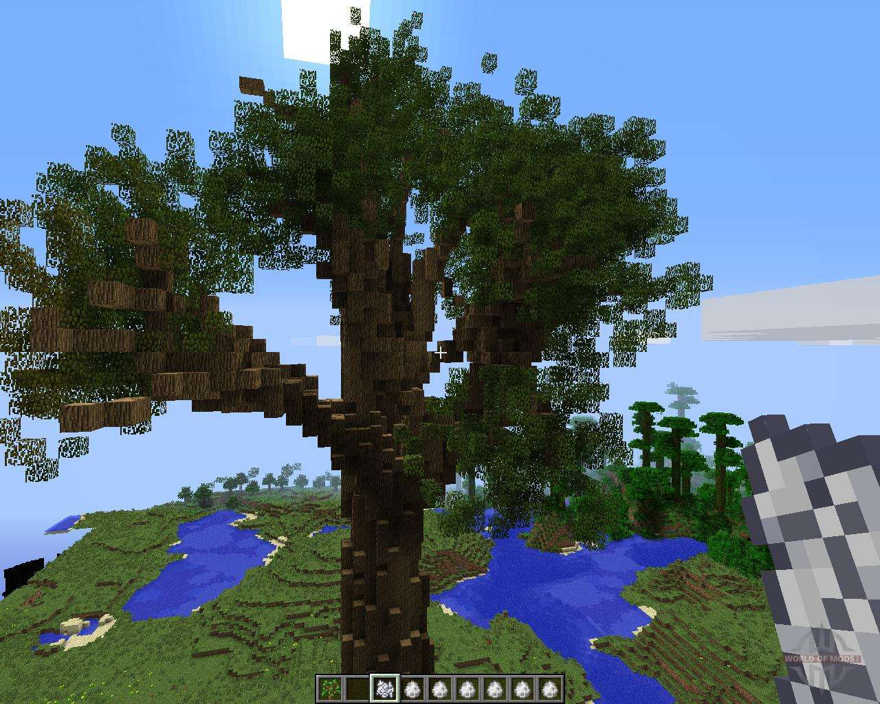 большие деревья мод 1.8.0 майнкрафт #3
