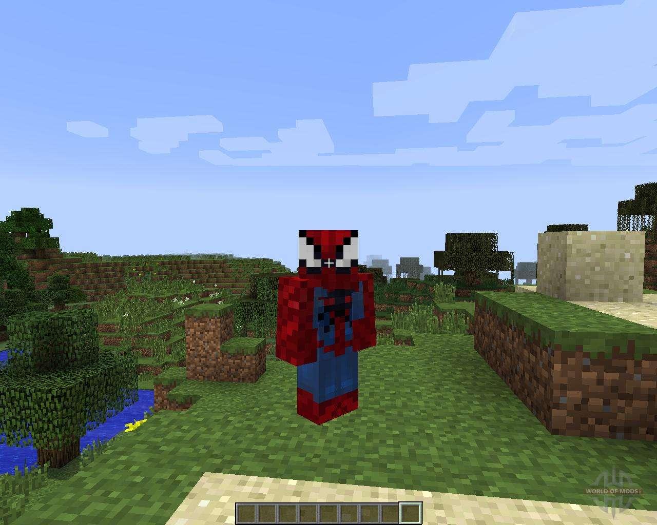 Мод на майнкрафт 1.7.10 на человека паука