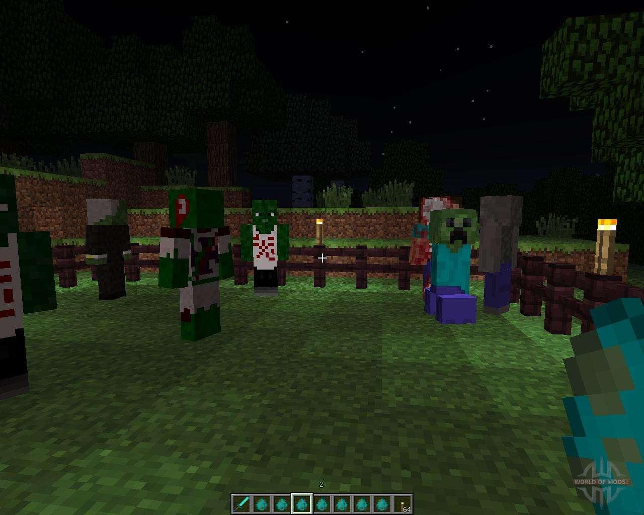 Survival Minecraft - Выживание на зомби сервере