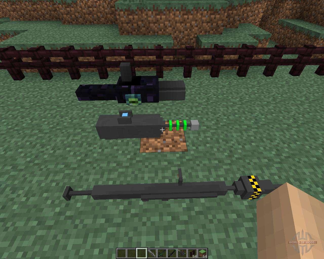 Скачать Stefinus 3D Guns для Minecraft 1.7.2