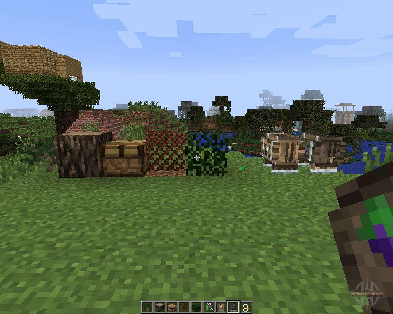 Minecraft 1.7.2 Mods