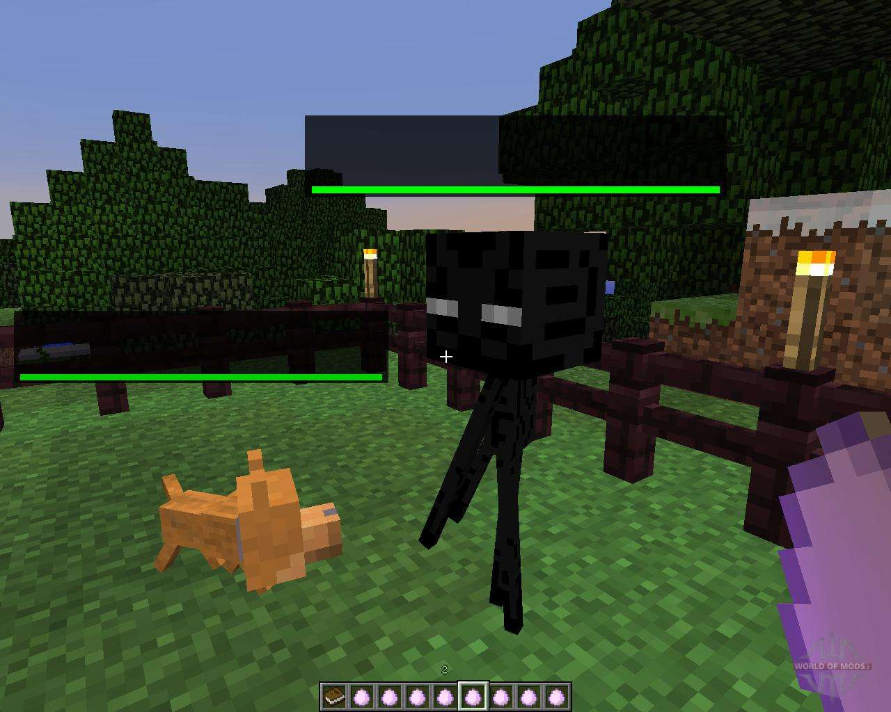 how to make a dog cage in minecraft