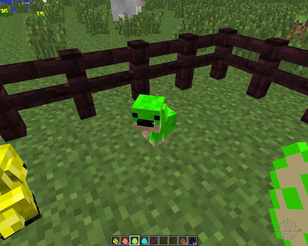 how to get a puppy in minecraft