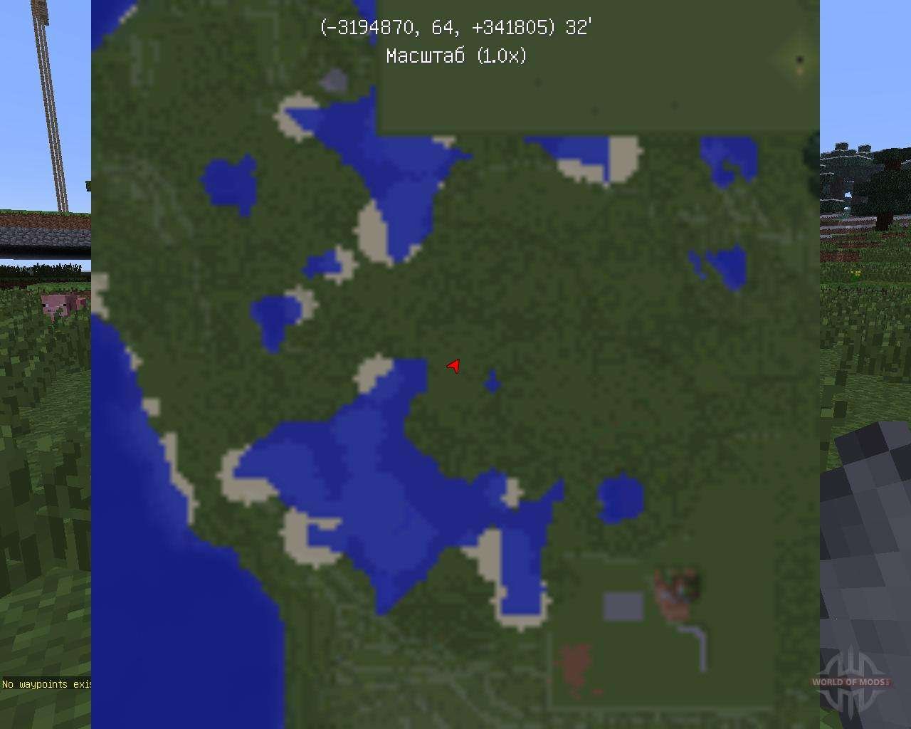 Zans minimap mod minecraft