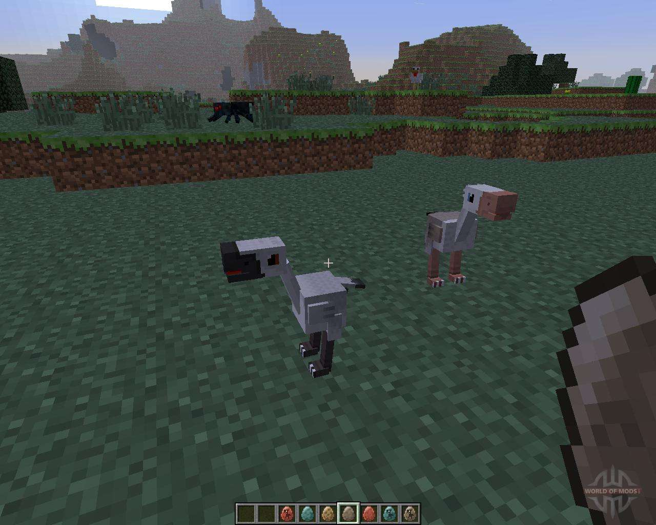 Fossil-Archeology [1 6 4] for Minecraft