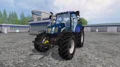 New Holland T6.160 v1.2 for Farming Simulator 2015