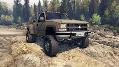Chevrolet Regular Cab Dually tan for Spin Tires