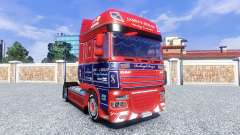 Skin James S. Hislop for DAF tractor unit for Euro Truck Simulator 2