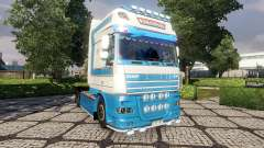 Skin VeBa Trans for DAF tractor unit for Euro Truck Simulator 2