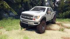 Ford Raptor SVT v1.2 factory ignot silver for Spin Tires