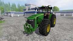John Deere 8370R Full for Farming Simulator 2015