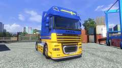 Skin IKEA for DAF XF tractor unit for Euro Truck Simulator 2