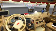 New interior DAF trucks for Euro Truck Simulator 2