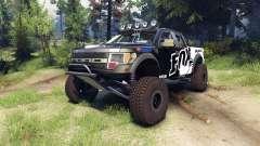 Ford Raptor Pre-Runner v1.1 fox for Spin Tires