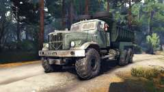 KrAZ-255 v3.0 for Spin Tires