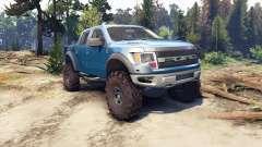 Ford Raptor SVT v1.2 factory blue flame for Spin Tires