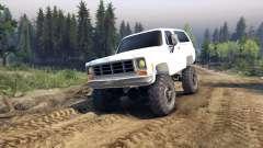 Chevrolet K5 Blazer 1975 v2.5 white for Spin Tires