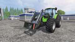 Deutz-Fahr Agrotron 7250 Forest King v2.0 green for Farming Simulator 2015