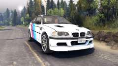 BMW M3 for Spin Tires
