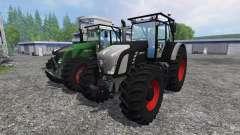 Fendt 936 Vario Forest Edition v1.2 for Farming Simulator 2015