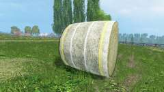 New textures of hay bales