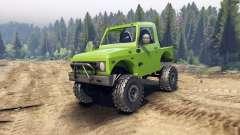 Suzuki Samurai v1.2 open top for Spin Tires