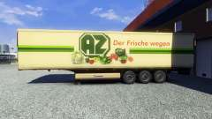 Skin AZ Kempen on the trailer for Euro Truck Simulator 2
