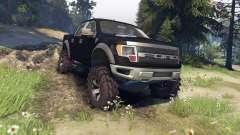 Ford Raptor SVT v1.2 matte black for Spin Tires