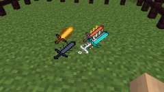 Cyan Warrior Swords [1.6.4]