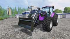 Deutz-Fahr Agrotron 7250 Forest Queen v2.0 purpl for Farming Simulator 2015