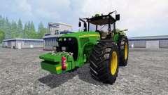 John Deere 8520 v3.1 for Farming Simulator 2015