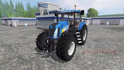New Holland T8.020 v4.0 for Farming Simulator 2015