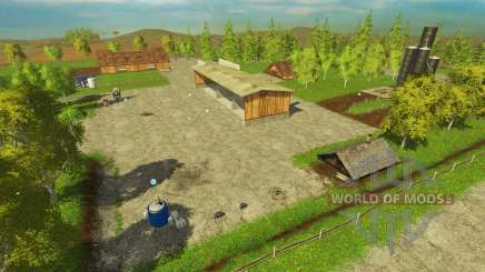 Modified B'ornhol'm for Farming Simulator 2015