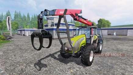 Valtra T140 Forest for Farming Simulator 2015