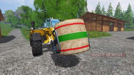 New textures bales of straw for Farming Simulator 2015