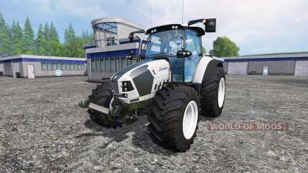 Lamborghini Nitro 120 T4i VRT custom white for Farming Simulator 2015