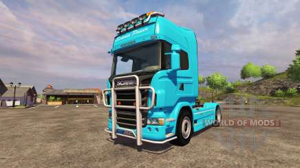Scania R560 blue for Farming Simulator 2013