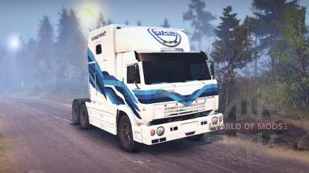 KamAZ-54112 RIAT for Spin Tires