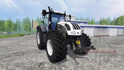 Steyr CVT 6230 grey for Farming Simulator 2015