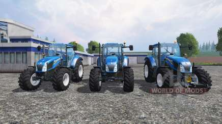 New Holland T5 [pack] for Farming Simulator 2015