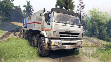 KamAZ-44108 Mustang for Spin Tires