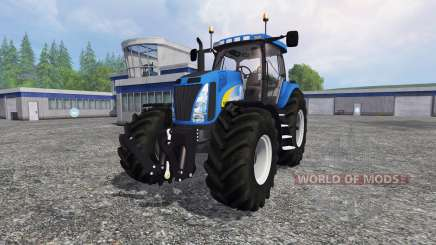 New Holland T8.020 v3.0 for Farming Simulator 2015