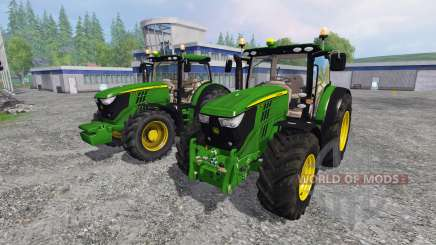 John Deere 6170R and 6210R v3.0 for Farming Simulator 2015