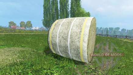 New textures of hay bales for Farming Simulator 2015