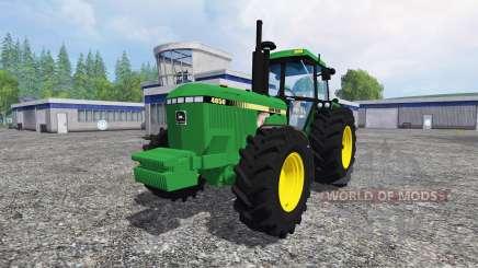 John Deere 4850 v2.0 for Farming Simulator 2015