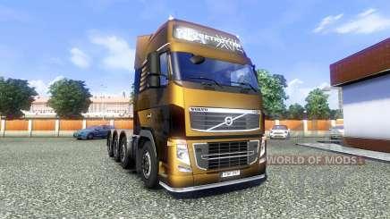 Volvo FH16 8x4 Heavy Duty for Euro Truck Simulator 2