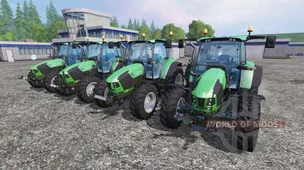 Deutz-Fahr 5110 TTV and 5130 TTV for Farming Simulator 2015