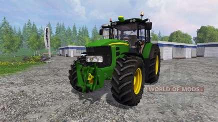 John Deere 7430 Premium v1.1 for Farming Simulator 2015