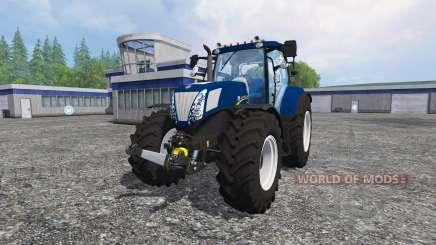 New Holland T7.270 blue power for Farming Simulator 2015